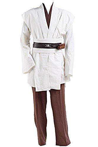 Für Wan Obi Erwachsene Kostüm - Tollstore Star Wars Kostüme Obi Wan Kenobi Kostüm Jedi Kostüme für Erwachsene Ohne Umhang Herren S