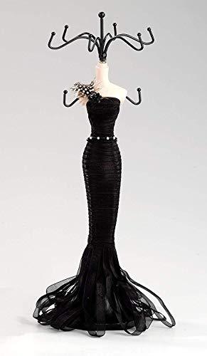 JOKA International Extravaganter Schmuckständer mit schwarzem Kleid, sehr dekorativ und nützlich