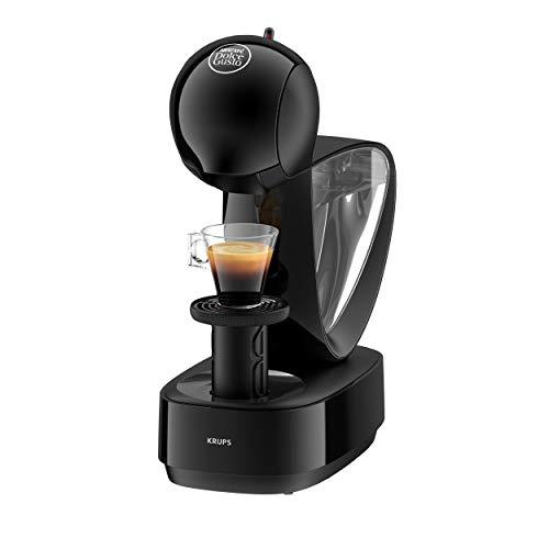 Krups Nescafé Dolce Gusto Infinissima KP1708 Kapsel Kaffeemaschine (für heiße und kalte Getränke, 15 bar Pumpendruck, manuelle Wasserdosierung, 1,2 l Wassertank, Abschaltautomatik) schwarz -