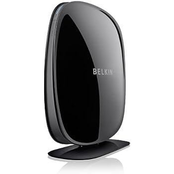 Belkin N600 F9K1102zb Wireless Dual Band N+Router (Black)