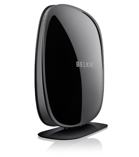 Belkin N600 F9J1102zb Wireless Dual Band N+Modem Router (Black)  available at amazon for Rs.3820