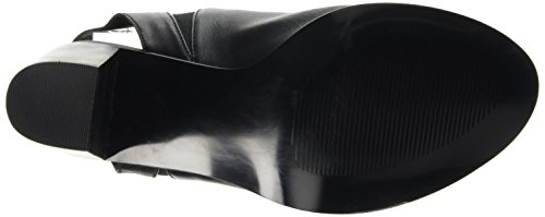 Steve Madden - Nobel, sandalo Donna Nero (Black Leather)
