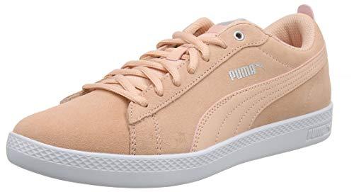 6244a0d1a Puma Smash Wns V2 SD, Zapatillas para Mujer, Rosa (Peach Bud-Silver