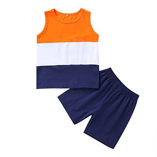 Longra Babykleidung babymode 2PCS Toddler Kids Baby Girl Boy Striped T Shirt Tops Shorts Pants Clothes Set Kindermode online kinderkleidung günstig Erstausstattung Baby babymode 5k Outerwear Pant