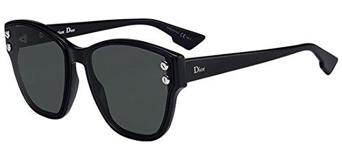 Dior Sonnenbrillen Addict 3F Black/Green Damenbrillen