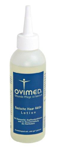 Ovimed Bio pays-basque cheveux actif Lotion, perte de cheveux, les problèmes de peau de tête, pellicules