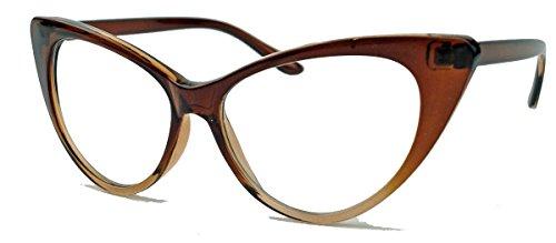 50er-jahre-damen-brille-cat-eye-nerdbrille-klarglas-brillengestell-farbwahl-ke-braun-ombre