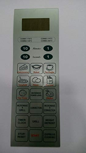 Microwave Oven Membrane Keypad . ABLE . Model No - 25SC3