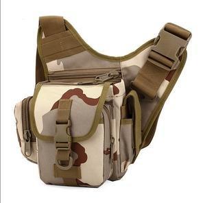 Zll/Esplosioni esterno tattico borsa Messenger piccola borsa da uomo Borsa a tracolla per fotocamera impermeabile in nylon Camo, three color three color
