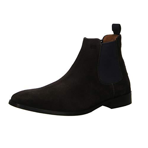Gordon & Bros Herren Chelsea Boots City S181837,Männer Stiefel,Halbstiefel,Stiefelette,Bootie,Schlupfstiefel,Grey,EU 46