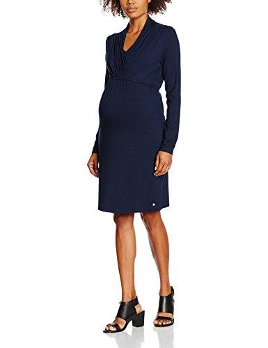 ESPRIT Maternity Damen Dress Nursing ls M84280 Umstandskleid, Blau (Night Blue 486), 38...