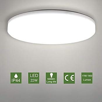 Illuminazione Neon Per Ufficio.Le Plafoniera Led 24w Illuminazione Impermeabile Ip54 Lampada Da