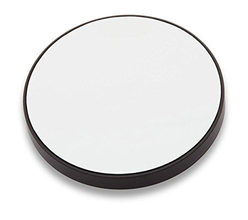 3 Claveles - Espejo de Aumento con Ventosas, 9 cm - 1x, 10x