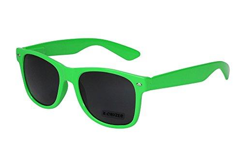 X-CRUZE 8-012 X0 Nerd Sonnenbrille Retro Vintage Design Style Stil Unisex Herren Damen Männer...