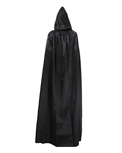 niceEshop(TM) Adult Halloween Death Kostüm Umhang Zauberer Robes, Magier Robes (Adult Halloween Kostüme Frauen)