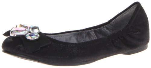CL By Laundry Gem Stone Femmes Toile Ballerines Black