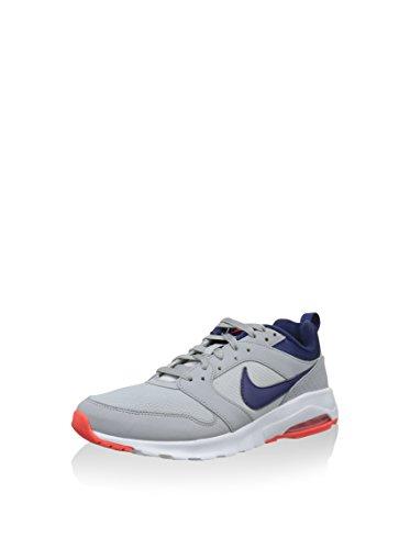 Nike Air Max Motion, Scarpe da Corsa Uomo Gris / Azul / Naranja (Wolf Grey / Lyl Blue-Brght Crmsn)