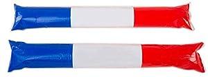 sans marque Sin marca-CD-47-8-Varillas de Supporter hinchables-Talla única-Multicolor