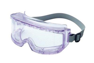 Uvex von Honeywell 9301Futura indirekte Vent Schutzbrille mit Transparent Sport Stil Wrap-around-Rahmen, klar Uvextreme infra-dura Anti-Fog Objektiv und Neopren Stirnband