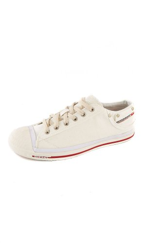 Diesel Exposure Low Trainers - Bright White