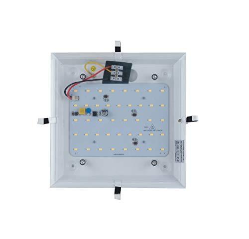 Base Led per Plafoniera Kappa 25,8x25,8 cm 18 watt Luce Naturale Ambiente I-KAPPA-BASE-LED/S