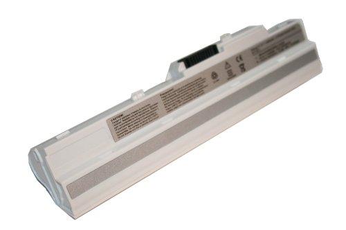 Batterie pour NETBOOK NOTEBOOK ORDINATEUR PORTABLE SUBNOTEBOOK 4400mAh 11.1V blanc WHITE pour LG X110 X-110