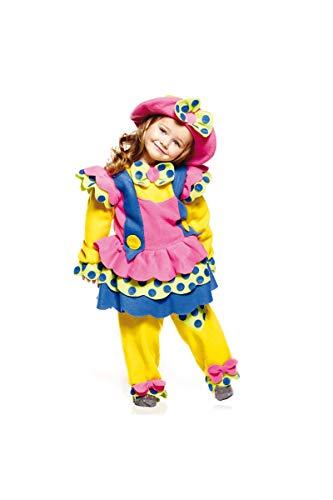 Générique-aq02519/3-Charmant Clownette-3años 82cm 3años