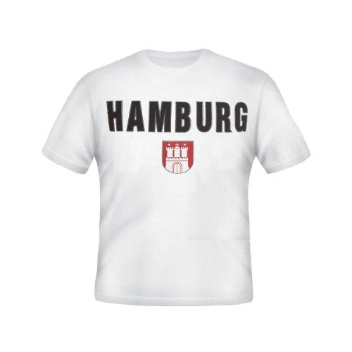 Brubaker \'Hamburg\' T-Shirt Weiß Gr. M