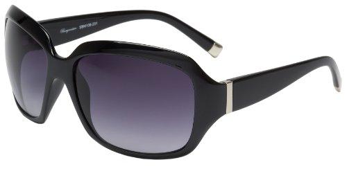Schöne Marken Sonnenbrille für Damen von Burgmeister mit 100% UV Schutz | Sonnenbrille mit stabiler Polycarbonatfassung, hochwertigem Brillenetui, Brillenbeutel und 2 Jahren Garantie | SBM106-231