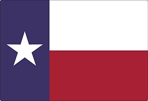 Magic Slice, Schneidebrett von Naomi McBride, rutschfest, 19 cm x 27,9cm, Party-Größe, mit Traubenmuster Texas Flag (Texas)