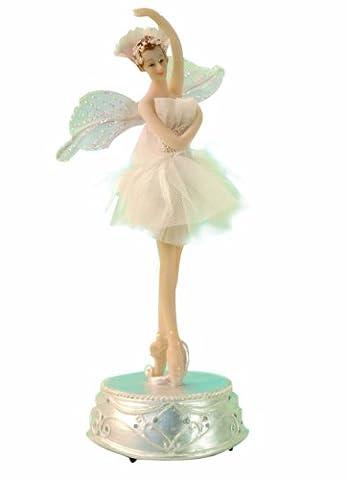 Musicbox World 27011 Ballerina Playing Flower Waltz