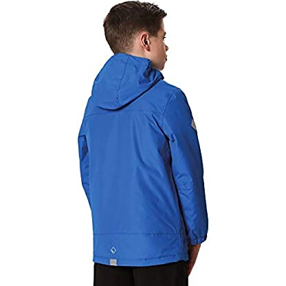 Regatta Children's Hurdle Ii Waterproof Insulated Hooded Jacket 2