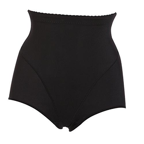 ZEARO Damen Shapewear Schwarz Nude Abnehmen Fett weg Figurformende Unterwäsche Bauchweg Bodyshaper Schwarz