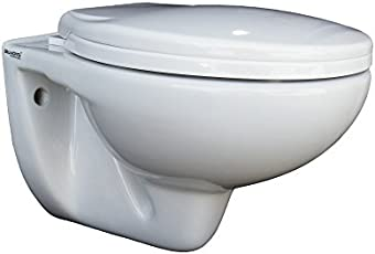 Belmonte Wall Hung Water Closet Mini with Seat Cover (White)