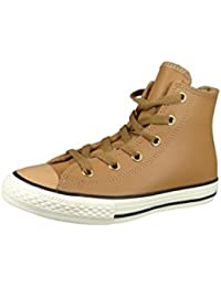 Converse Kids Chuck Taylor All Star Hi Leather Trainers