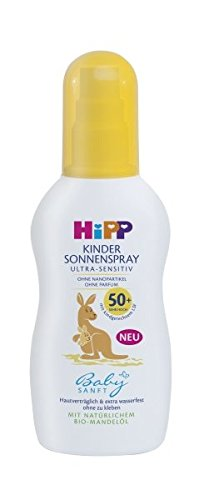 HiPP Babysanft Sonnenspray, 1er Pack (1 x 150 ml)