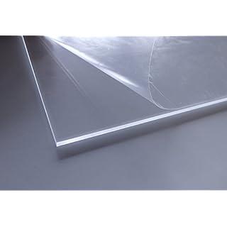 Cuadros Lifestyle Acrylglas   PMMA   transparent   glasklar   UV beständig   beidseitig foliert   im Zuschnitt   4 mm stark, Größe:30x30 cm