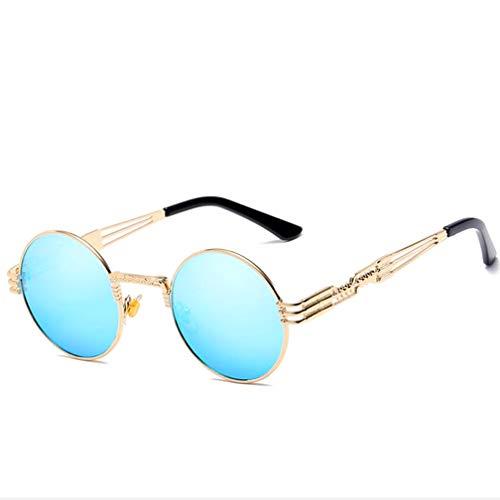 Polarisierte Sonnenbrillen für Damen, Sonnenbrillen Damen Damen Vintage Square Sonnenbrille Retro,A