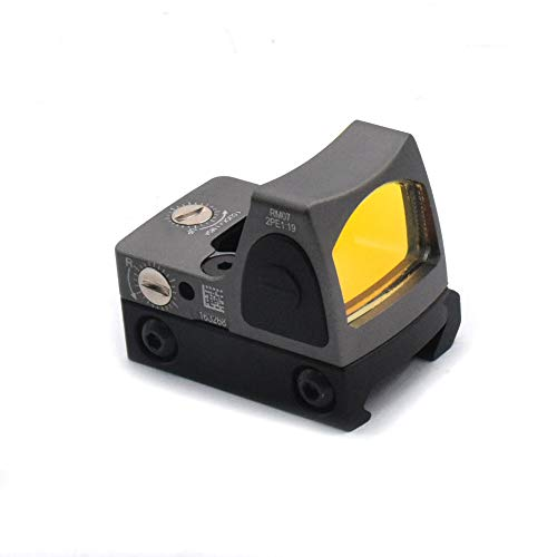 Haomingxing Einstellbarer LED roter Punkt,Red Dot Sight