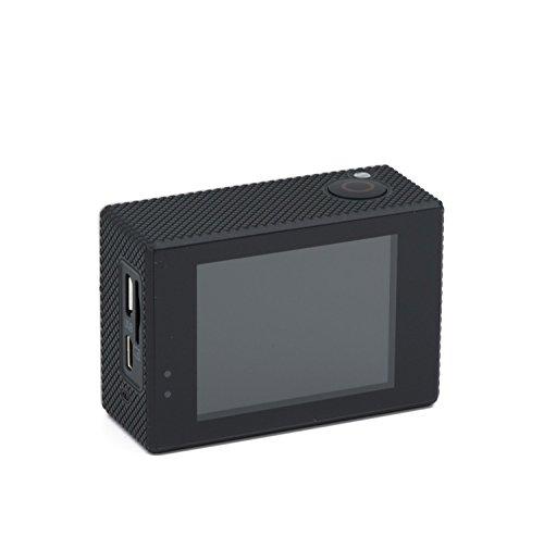 QUMOX SJ5000X Elite 2K 4K 30fps 720p 120fps NTK96660 12M Exmor IMX078cqk Sensor Gyro-Action-Kamera WiFi HD Sports DV Silber - 3