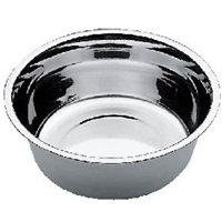 Stainless Steel Deluxe Dog Water Feeding Bowl (Bowl Size: 11 Inch Bowl)