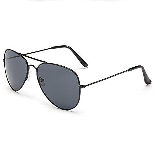 Z-P Unisex Classical Metal Frame Color Film Lens Sunglasses UV400 53mm