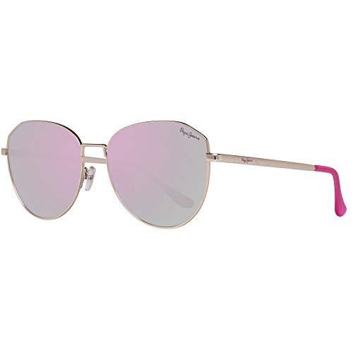 Pepe Jeans Damen PJ5137C255 Sonnenbrille, Gold, 55