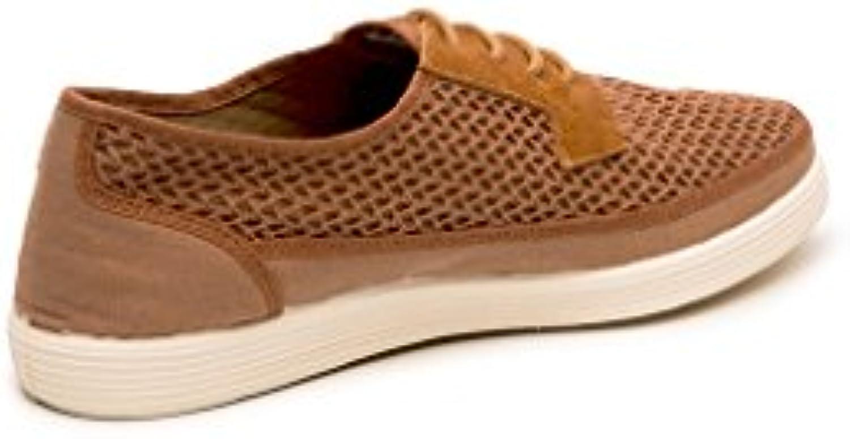 Zapatos Rejilla Marrón Maians Modelo FaustinoTalla 43 -