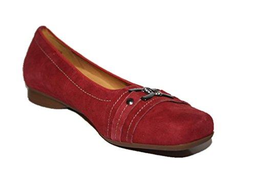 Theresia Muck Hanka M65456-015-000 Damen Ballerinas Rot (chianti 507)