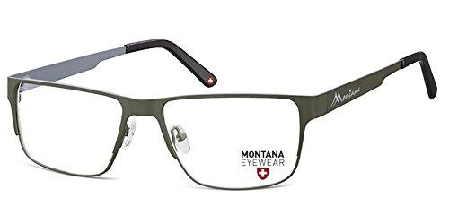 Montana -  Montatura  - Uomo grigio Stainless Steel - MATT FISHING grau-grün