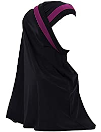 zhxinashu Musulmán Chal Islámico Bufandas Largas - Mujer Hijabs Velos Envolturas Cabeza Chapeau Arabe Turbante