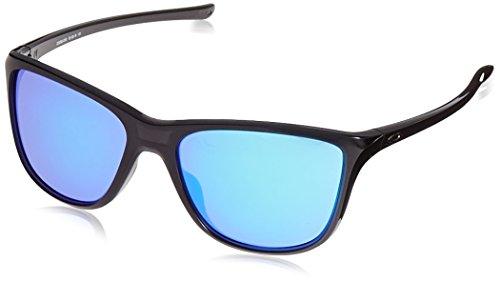 Oakley Damen Reverie 936203 55 Sonnenbrille, Schwarz (Black Ink/Violetiridium),