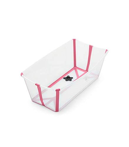 STOKKE Bañera Plegable Stokke ® Flexi Bath CON SOPORTE para Recién Nacido...