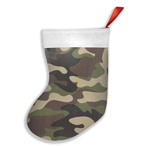 Dutars Camouflage Militär Abstrakte Camo Weihnachten Hängende Strümpfe Weihnachten Party Dekorationen Socken für Familie Urlaub Weihnachtsbaum hängende Spielzeug Süßigkeiten Geschenktüte